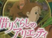 'Arrietty' vuelve subir taquilla quinta semana cartel