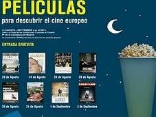 Ciclo cine europeo verano aire libre