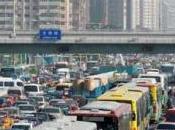 Miles vehículos estancados China