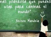 Pensamientos Nelson Mandela sobre educación