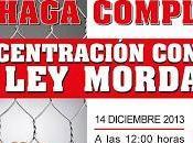 #14-D: CONCENTRACIÓN CONTRA REPRESIÓN PROTESTA SOCIAL.... espera PSOE para interponer recurso inconstitucionalidad?