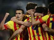 Pedro hace Messi Barcelona golea