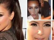 Maquillaje iluminado kardashian