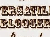 ¡Nuevo premio! Versatile Blogger Award