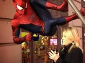 Spiderman esta preparado para celebrar Nuevo Times Square