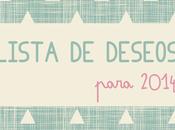 Lista deseos para 2014