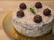 Tarta queso Ferrero Rocher (sin horno)