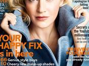 Kate Wislet para portada Enero Glamour Magazine Reino Unido