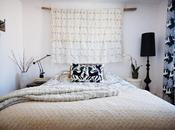 Inspiración semana: Manta marroquí boda como cabecero cama