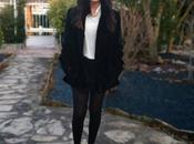 Faux coat princess blouse