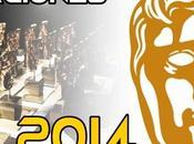 Nominaciones Premios BAFTA 2014