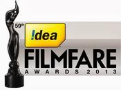 """Nominados Premios """"Filmfare awards"""" edición."""