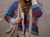 striped shawl