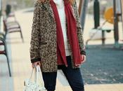 leopard coat from sales!!