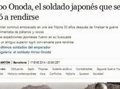 Muere hiroo onoda, oficial japonés resistió selva filipina casi treinta años después acabar guerra mundial