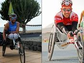 atletas discapacidad, Rafael Botello Norberto Chávez, referentes nacionales carreras larga distancia, como ciclismo, triatlón duatlón presentes DISA Gran Canaria Maratón 2014