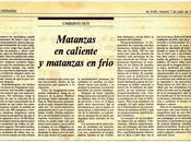 HEMEROTECA: violencia planificada (1989)