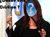 Cristina Kirchner ausente...