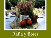 Centros mesa flores naturales