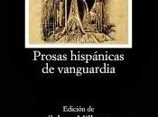 Prosas hispánicas vanguardia