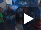 Huracán violencia fútbol base, padres lanzan botellas ceniceros partido infantiles Palmas