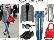 Copy look: Olivia stripes