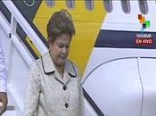 Dilma Rousseff arribó Habana fotos video]