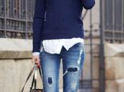 RIPPED JEANSSweater: Zara, Shirt: Pull&Bear, Jeans: P...