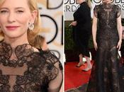Golden Globes 2014: Vestidos alfombra roja