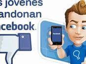 jóvenes están abandonando Facebook