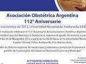 Cursos enlaces interés para profesionales Obstetricia. Asociación Obstétrica Argentina.