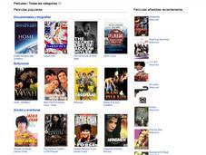 Youtube incorpora películas completas