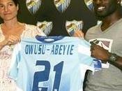 ghanian Quincy Owusu-Abeyie become Málaga seventh incorporation