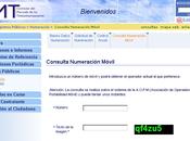 """""""Consulta numeración móvil"""", nueva aplicación"""