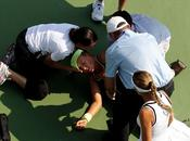 Open: partido ante Dulko, Azarenka desmayó calor