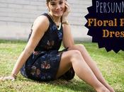 PersunMall Floral Print Dress
