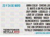 Territorios Festival 2014: Spencer Blues Explosion, Manel, Anna Calvi, Swan Fyahbwoy...