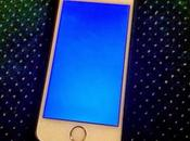 "Usuarios iPhone reportan pantalla azúl muerte""en dispositivos"