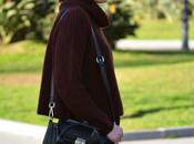 Outfit Burgundy sweater