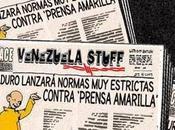 Maduro, amarillismo, periodismo Yellow