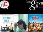Nominados Goya 2014