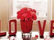 Lindas decoraciones mesa Valentín