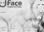 Caricaturas para móvil Uface