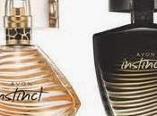 Llegó Uruguay perfume Instinct Avon cuya imagen Megan