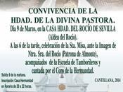 Convivencia Hermandad Divina Pastora Cantillana aldea Rocío