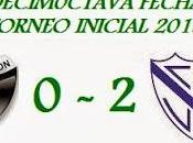 Colón:0 Vélez:2 (Fecha 18°)