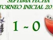 Gimnasia Esgrima:1 Colón:0 (Fecha