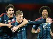 Bayern triunfó Inglaterra frente Arsenal pone mira cuartos