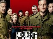 Monuments Men. Película George Clooney