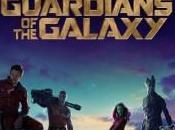 Primer póster oficial Guardianes Galaxia